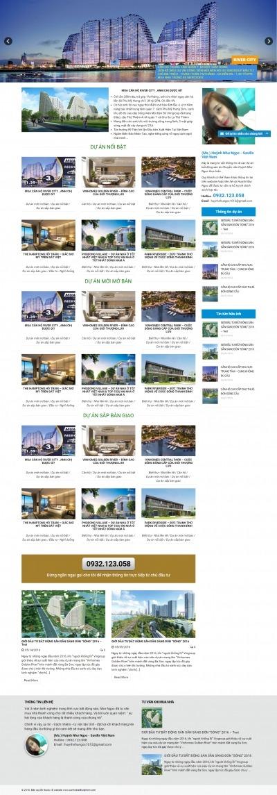 Thiết kế website canhobietthutphcm.com