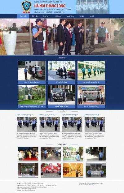 Thiết kế website hanoithanglong.com
