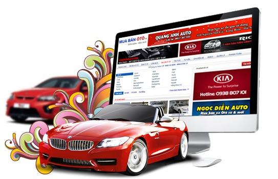 thiet ke website cho thue xe
