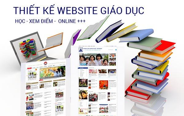 thiet ke website truong hoc