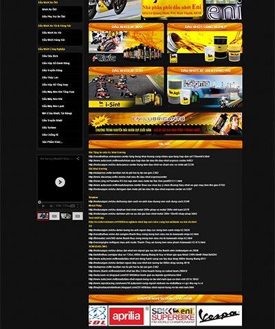 Thiết kế website songdailong.com
