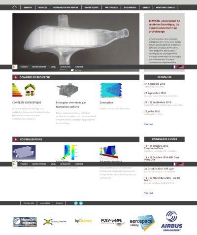 Thiết kế website temisth.com