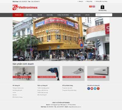 Thiết kế website viettronimex.com.vn