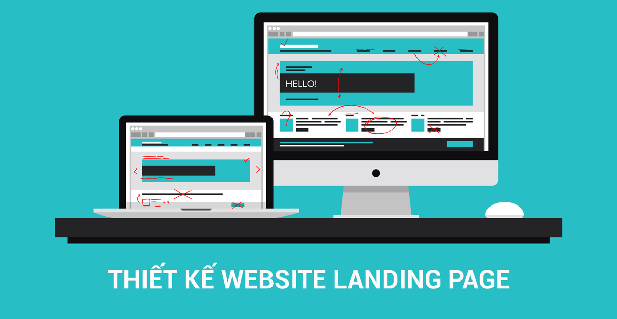 thiet ke website landing page