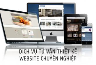 Dịch vụ tư vấn thiết kế website chuyên nghiệp