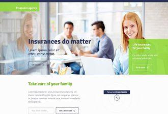 Thiết kế web môi giới bảo hiểm online